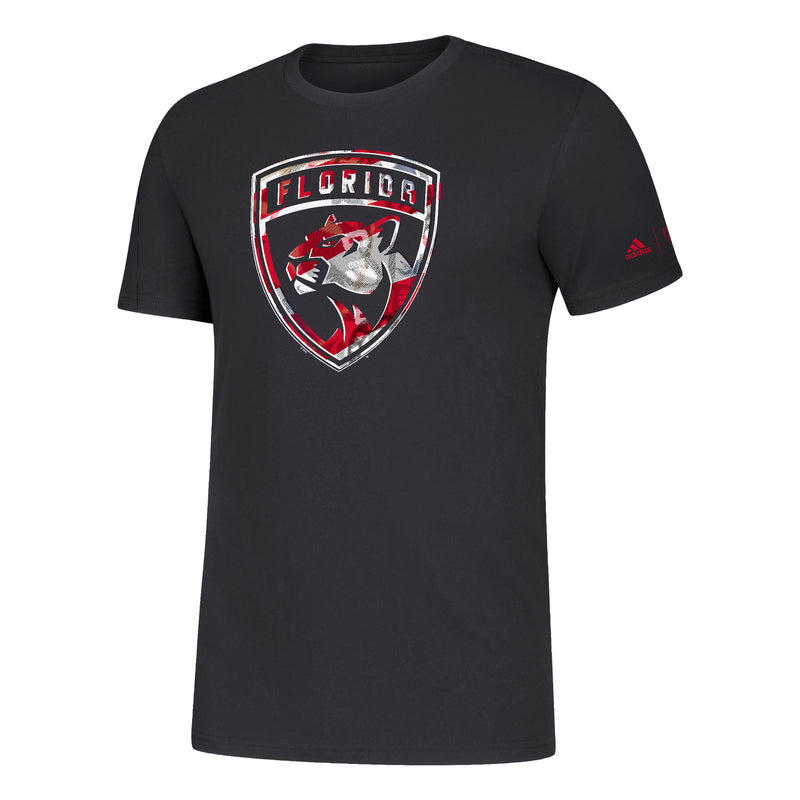 Florida Panthers adidas Amplifier SS T-Shirt - BLack
