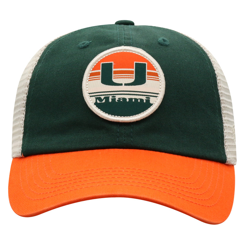 Miami Hurricanes Top of the World Early Up Adjustable Three-Tone