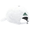 Miami Hurricanes adidas 2017 Adjustable Slouch U Hat - White