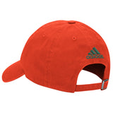 Miami Hurricanes adidas 2017 Adjustable Slouch U Hat - Orange