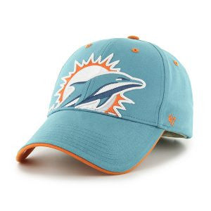 Miami Dolphins Toddler Neptune Creature Hat - CanesWear at Miami FanWear Headwear 47 Brand CanesWear at Miami FanWear