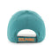 Miami Dolphins Legacy '47 Brand MVP Adjustable Hat - Teal