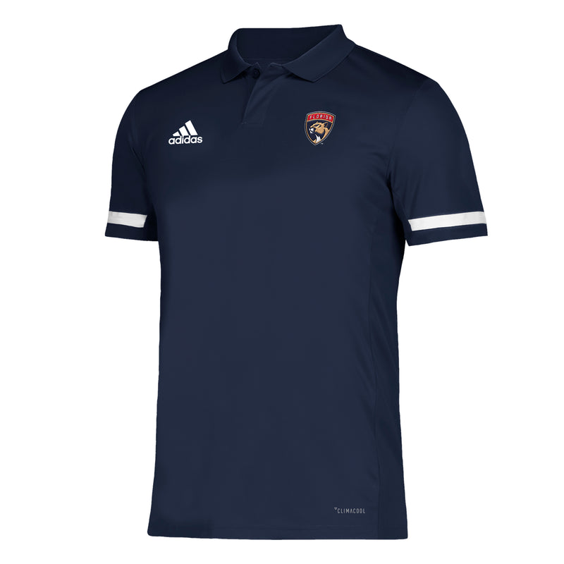 Florida Panthers adidas 2019 NHLFPA Navy Blue Golf Polo