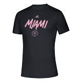 Inter Miami CF 2020 Creator SS Wordmark Goals T-Shirt - Black