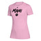 Inter Miami CF 2020 Creator SS Women's Wordmark Goals T-Shirt - Pink