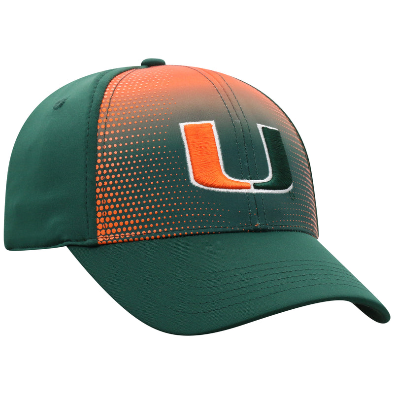 Miami Hurricanes Top of the World Focus One Fit Two-Tone