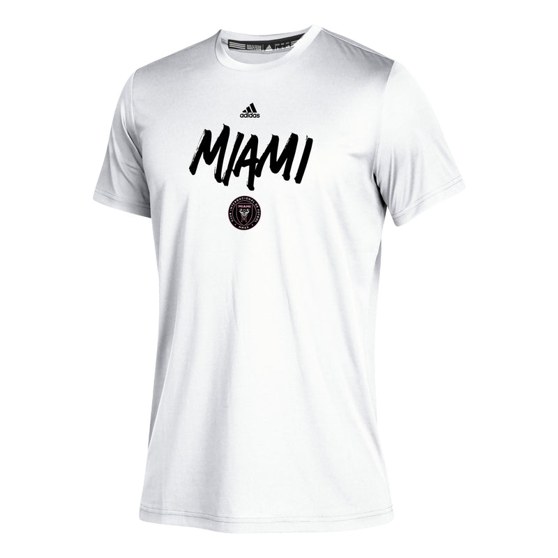 Inter Miami CF 2020 Youth Wordmark Goals SS T-Shirt - White