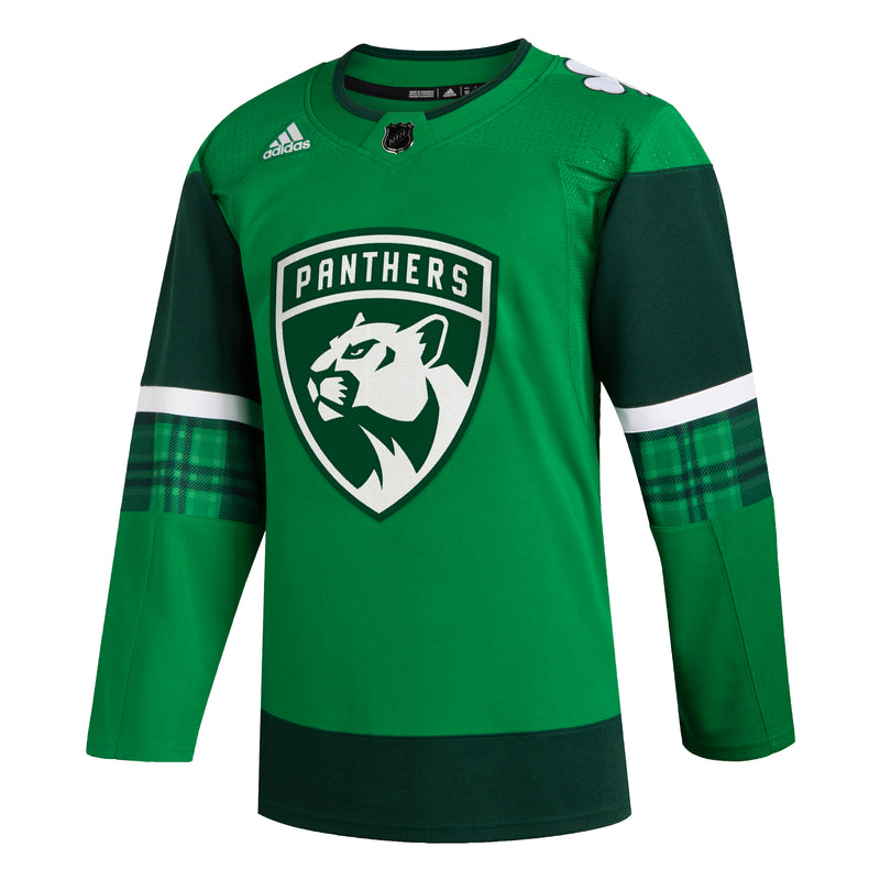 Florida Panthers 2020 adidas St. Patrick's Day Authentic Jersey