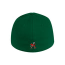 Miami Hurricanes adidas 2020 Coaches Structured Stretch Flex Hat - Green