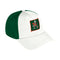 Miami Hurricanes adidas 2020 Coaches Slouch Stretch Flex Hat - White/Green