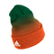 Miami Hurricanes adidas 2020 Coaches Cuffed Beanie - Green/Orange