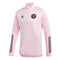 Inter Miami CF 2020 IMCF L/S 1/4 Zip Training Top - Pink