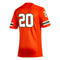 Miami Hurricanes adidas 2020 #20 Football Premier Jersey - Orange
