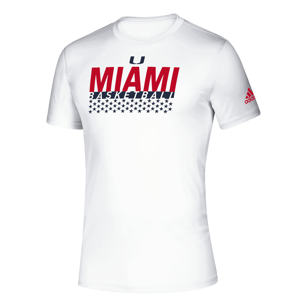 Miami Hurricanes 2019 Creator Salute Basketball T-Shirt