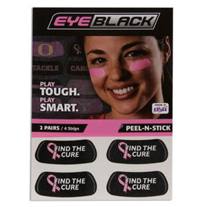 Find The Cure Eye Black - CanesWear at Miami FanWear Tailgate Gear Eye Black CanesWear at Miami FanWear