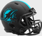 Miami Dolphins Limited Edition Eclipse Mini Speed Helmet - Black