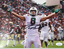 Braxton Berrios Signed Photo- FSU TD Celebration