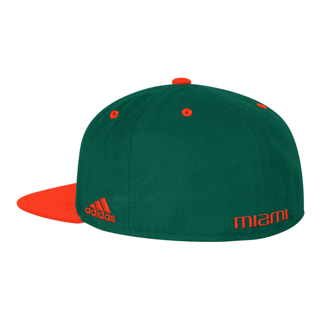 Miami Hurricanes 2017 On Field Baseball Fitted Hat