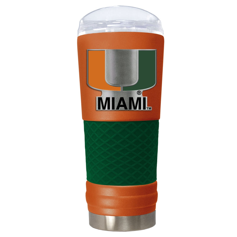 Miami Hurricanes The Draft 18 oz, Vacuum Insulated Tumbler