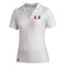 Miami Hurricanes adidas 2020 Women's V-Neck Polo - White