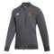 Miami Hurricanes adidas 2020 Women's Under the Lights Woven Bomber Jacket - Grey