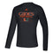 Miami Hurricanes adidas 2020 Locker Practice Repeat Creator L/S T-Shirt - Black