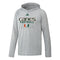 Miami Hurricanes adidas 2020 Locker Practice Repeat Freelift Tech Hoodie - Grey