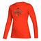 Miami Hurricanes adidas 2020 Women's Creator L/S T-Shirt - Orange