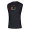 Miami Hurricanes adidas 2020 U Creator Sleeveless T-Shirt - Black