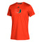 Miami Hurricanes adidas 2020 Youth Locker Side by Side Climatch S/S T-Shirt - Orange