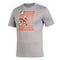 Miami Hurricanes adidas 2020 Creator S/S T-Shirt - Heather Grey
