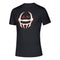 Miami Hurricanes adidas 2020 Locker Chromed Helmet Creator S/S T-Shirt- Black