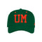 Miami Hurricanes adidas 2020 Local Coaches Structured Flex Hat - Green