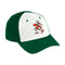 Miami Hurricanes adidas 2020 Sebastian Structured Flex Cap -White/Green