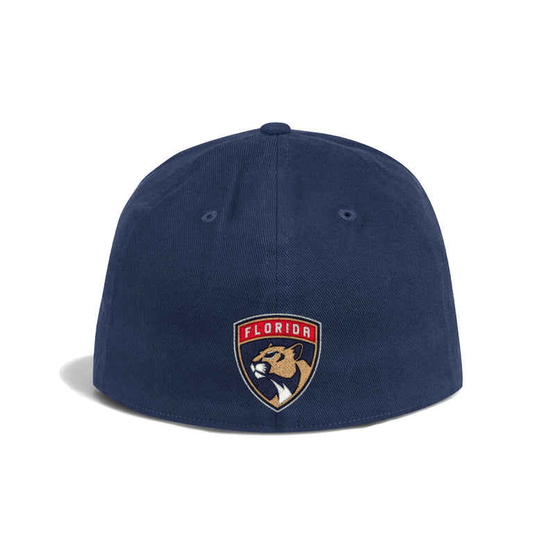 Florida Panthers Stretch Flex Fit Cap - White Navy