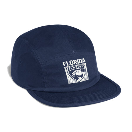Florida Panthers 2020 adidas 5 Panel Hat - Navy