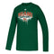 Miami Hurricanes adidas 2020 Amplifier L/S T-Shirt - Green  GI1614