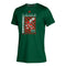 Miami Hurricanes adidas 2020 Youth Cover Story CLIMATCH S/S T-Shirt - Green  GI3210
