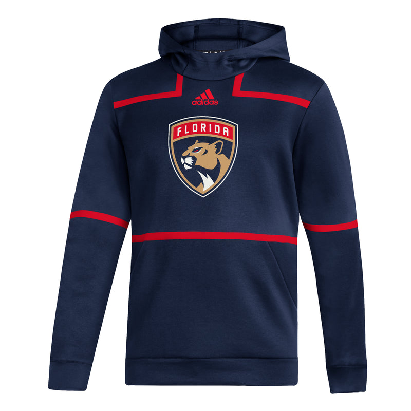 Florida Panthers adidas 2020 Under the Lights Pullover Jacket - Navy