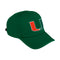 Miami Hurricanes adidas 2020 Superlite Cap - Green