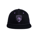 Florida Panthers 2020 adidas Hockey Fights Cancer Flat Brim Snapback - Black