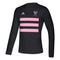 Inter Miami CF 2021 adidas Creator LS Men's Three Stripes T-Shirt - Black