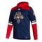 Florida Panthers Adidas 2021 Retro Under the Lights Pullover Jacket - Navy