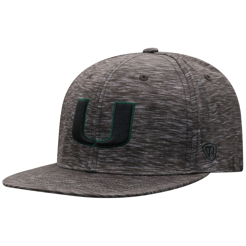 Miami Hurricanes Top of the World Gritty One Fit Black