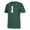 Miami Hurricanes adidas 2017 Ultimate Jersey Hook T-Shirt - Green