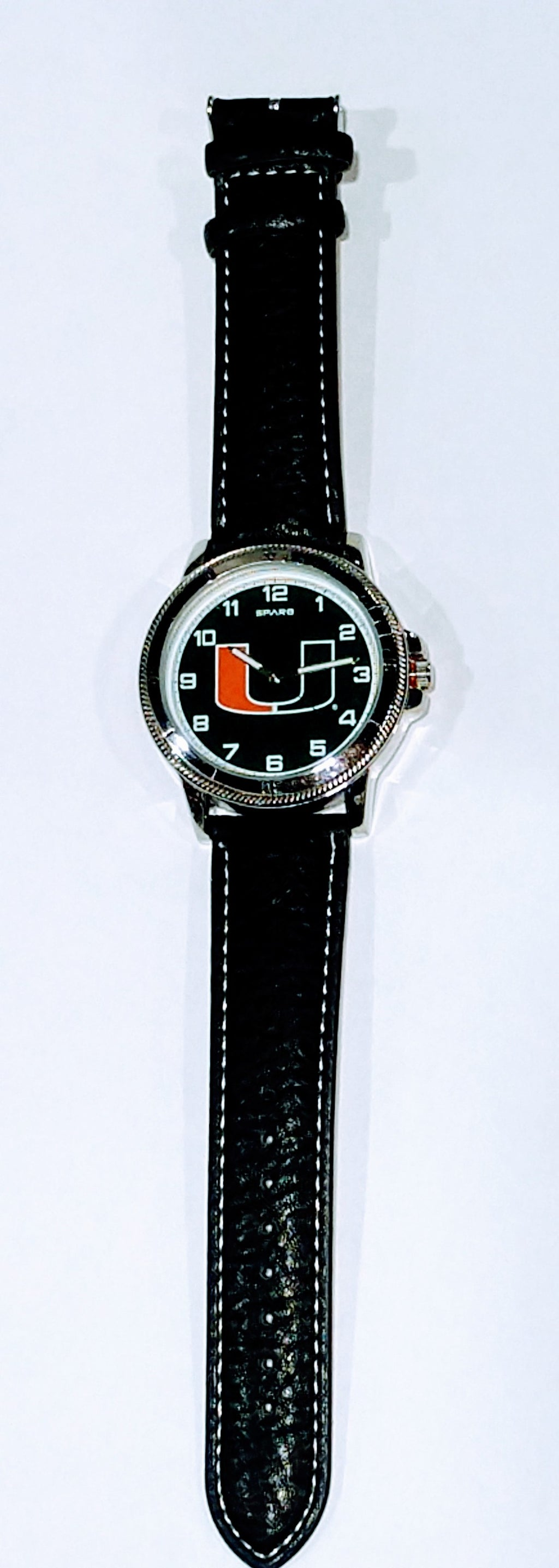 "Miami Hurricanes Men's ""Classic Series""  Sports Watch - Black"