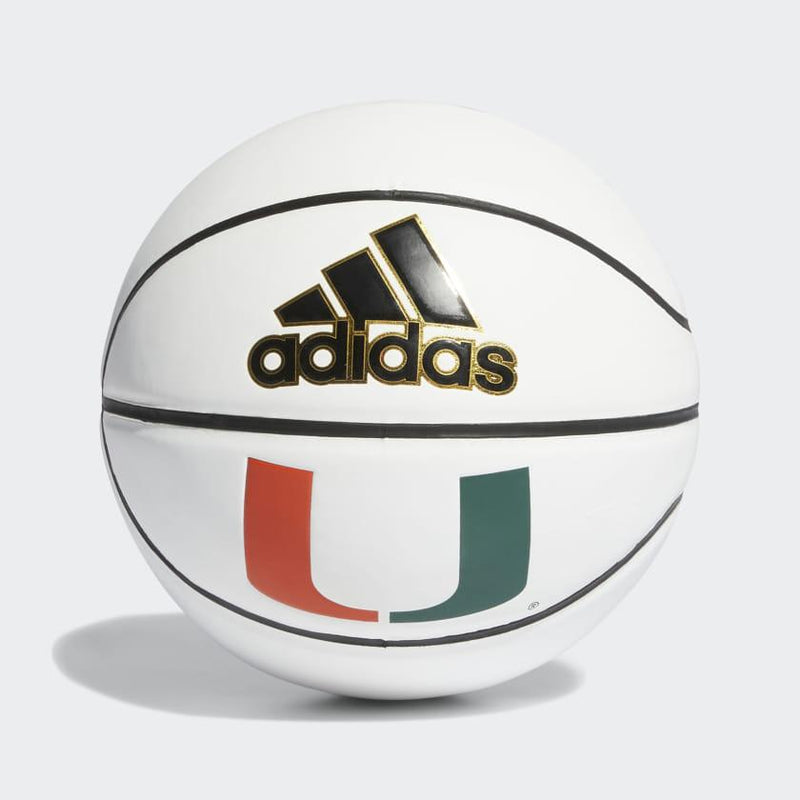 Miami Hurricanes adidas Mini Size Autograph Basketball