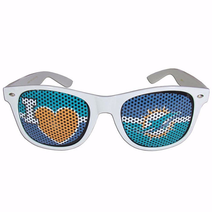 Miami Dolphins I Heart Game Day Shades Sunglasses - CanesWear at Miami FanWear  CanesWear at Miami FanWear CanesWear at Miami FanWear