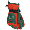 Miami Hurricanes adidas 2017 Team Issued Nylon Gloves - Green