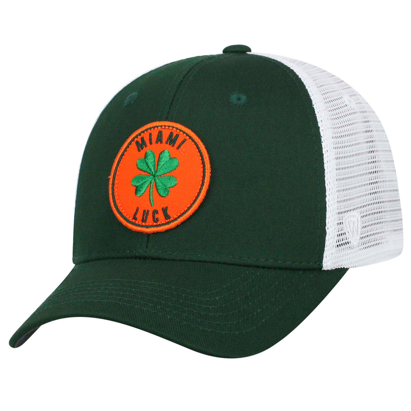 Miami Hurricanes 2020 Top of the World Lucky City Adjustable Tow-Tone